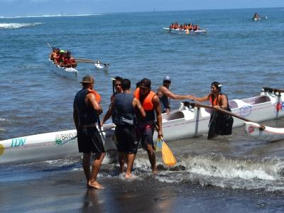 Finale Va'a Polynésie (vitesse)